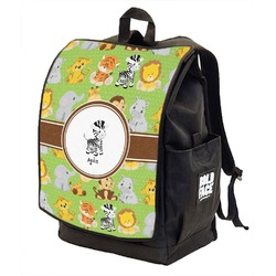 Safari Backpack w/ Front Flap  (Personalized)