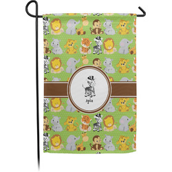 Safari Single Sided Garden Flag With Pole (Personalized)