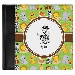 Safari Genuine Leather Baby Memory Book (Personalized)