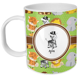 Safari Plastic Kids Mug (Personalized)