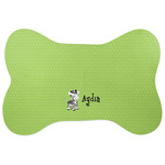 Safari Bone Shaped Dog Food Mat (Personalized)