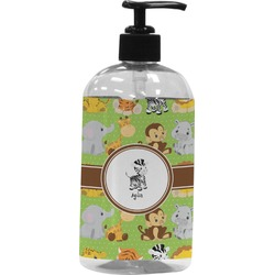 Safari Plastic Soap / Lotion Dispenser (Personalized)