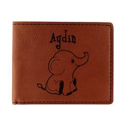 Safari Leatherette Bifold Wallet (Personalized)
