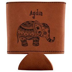 Safari Leatherette Can Sleeve (Personalized)