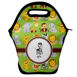 Safari Lunch Bag w/ Name or Text