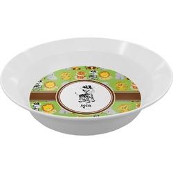 Safari Melamine Bowl (Personalized)