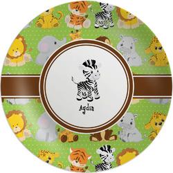 "Safari Melamine Plate - 8"" (Personalized)"