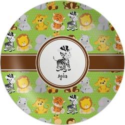 Safari Melamine Plate (Personalized)