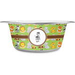 Safari Stainless Steel Dog Bowl (Personalized)