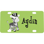 Safari Mini / Bicycle License Plate (4 Holes) (Personalized)
