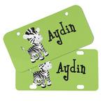 Safari Mini/Bicycle License Plates (Personalized)