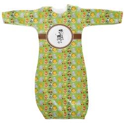Safari Newborn Gown (Personalized)