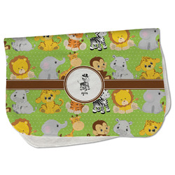 Safari Burp Cloth - Fleece w/ Name or Text