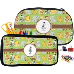Safari Pencil / School Supplies Bag (Personalized)