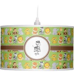 Safari Drum Pendant Lamp (Personalized)