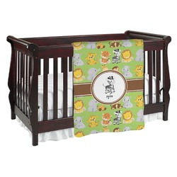 Safari Baby Blanket (Personalized)