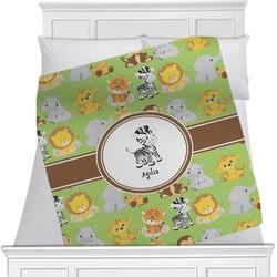 Safari Blanket (Personalized)
