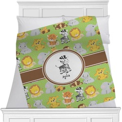 Safari Minky Blanket (Personalized)