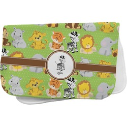 Safari Burp Cloth (Personalized)