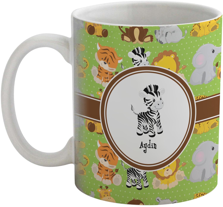 Safari Coffee Mug Personalized