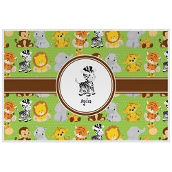 Safari Laminated Placemat w/ Name or Text