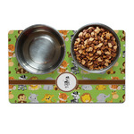 Safari Dog Food Mat (Personalized)