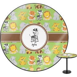 Safari Round Table (Personalized)