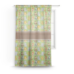 Safari Sheer Curtains (Personalized)