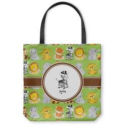 Safari Canvas Tote Bag (Personalized)