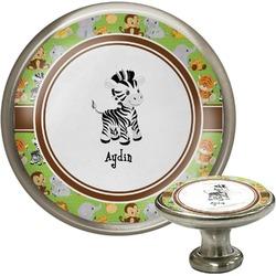 Safari Cabinet Knob (Silver) (Personalized)