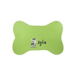 Safari Bone Shaped Dog Food Mat (Small) (Personalized)