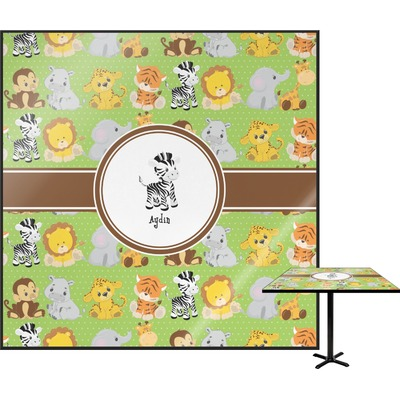 Safari Square Table Top (Personalized)
