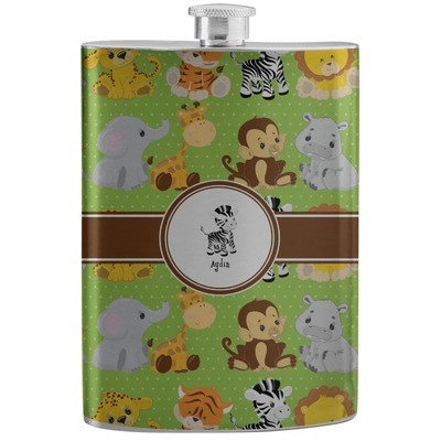 Safari Stainless Steel Flask (Personalized)