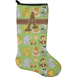 Safari Christmas Stocking - Neoprene (Personalized)