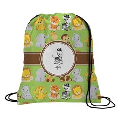 Safari Drawstring Backpack (Personalized)