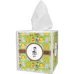 Safari Tissue Box Cover (Personalized)