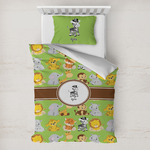 Safari Toddler Bedding w/ Name or Text