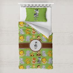 Safari Toddler Bedding w/ Name or Text