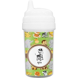 Safari Toddler Sippy Cup (Personalized)