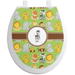 Safari Toilet Seat Decal (Personalized)