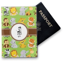Safari Vinyl Passport Holder (Personalized)