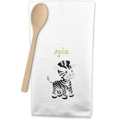 Safari Waffle Weave Kitchen Towel (Personalized)