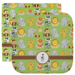 Safari Facecloth / Wash Cloth (Personalized)