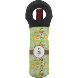 Safari Wine Tote Bag (Personalized)