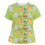 Safari Women's Crew T-Shirt (Personalized)