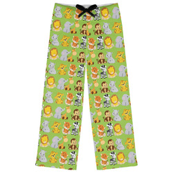 Safari Womens Pajama Pants (Personalized)