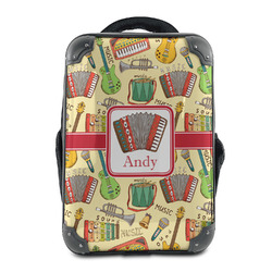 Vintage Musical Instruments Hard Shell Backpack (Personalized)