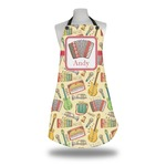 Vintage Musical Instruments Apron w/ Name or Text