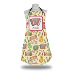 Vintage Musical Instruments Apron (Personalized)