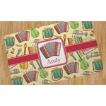 Vintage Musical Instruments Area Rug (Personalized)